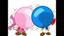 Toad and Toadette's Crazy Floating Bubble Gum