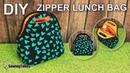 DIY LUNCH BAG 가방만들기 Portable Picnic Bag Sewing Tutorial Free Sewing Pattern sewingtimes
