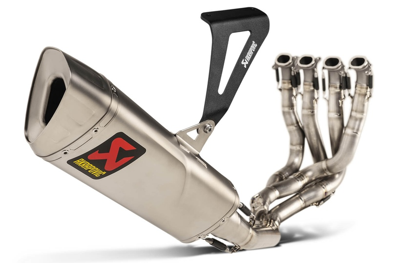 Выхлоп Akrapovic Evolution Line Kit (Titanium) для Honda CBR1000RR-R Fireblade SP 2020