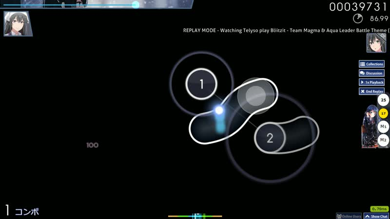 Osu ~Bliitzit Team Magma Aqua Leader Battle Theme Unofficial Sotarks SMOKELIND's Insane ~ DT
