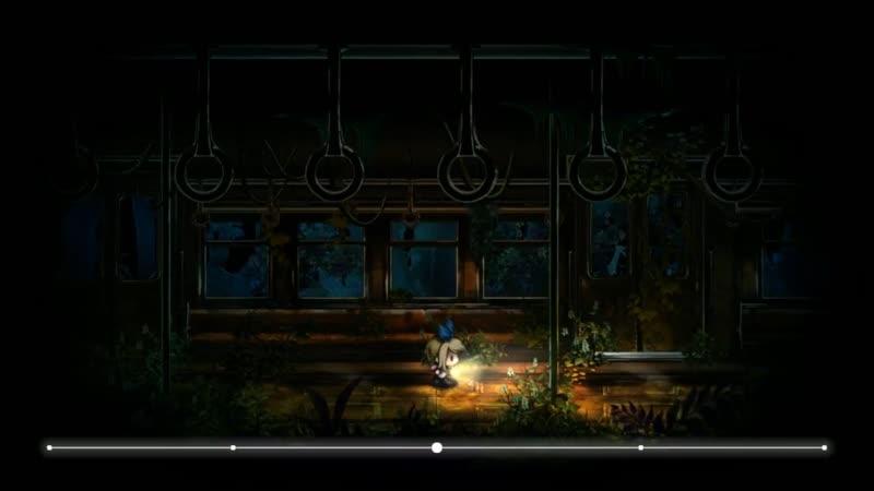 Играем Yomawari Midnight Shadows PC Win Часть 2