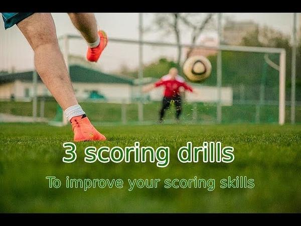 3 scoring drills - Soccer Exercises 29