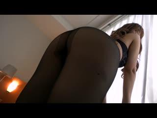 Asian in pantyhose 77