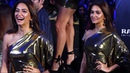 Beautiful Kriti Kharbanda in Goldy Dress for GQ Best Dress Awards