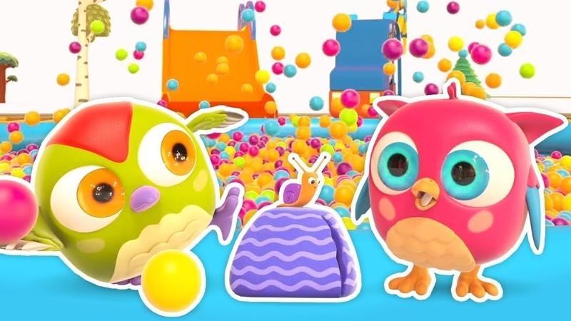 Bebek şarkıları. Eğitici çizgi film Baykuş Hop Hop - Ağır hafif nedir öğrenelim!