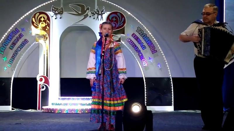 Поет Таисия Капина, лауреат II степени, Областного конкурса Таланты земли сибирской