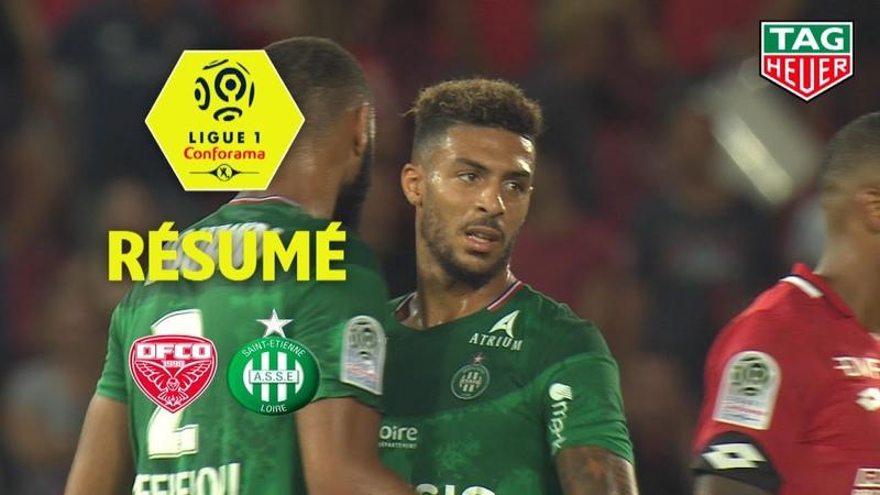 Dijon FCO - AS Saint-Etienne ( 1-2 ) - Résumé - (DFCO - ASSE) / 2019-20