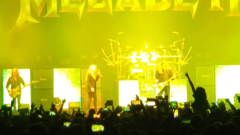 MEGADETH Joined By DAVE MUSTAINE's Daughter ELECTRA For 'À Tout Le Monde' Paris France 2020