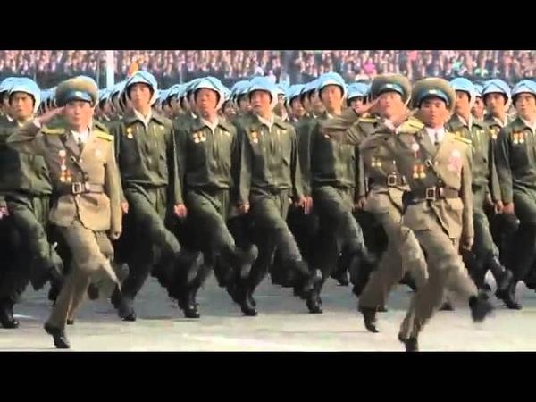 Парад армии КНДР.