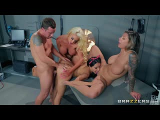 BrazziBots: Part 4: Karma Rx, Lela Star, Nicolette Shea & Jessy Jones by Brazzers  Full HD 1080p #Porno #Sex #Порно