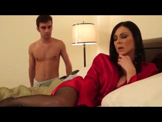 Hot mom kendra lust strips and seduces her sons friend at hotel(shortfilm)