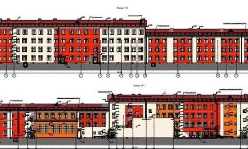 строительство школы в микрорайоне «Сокол»