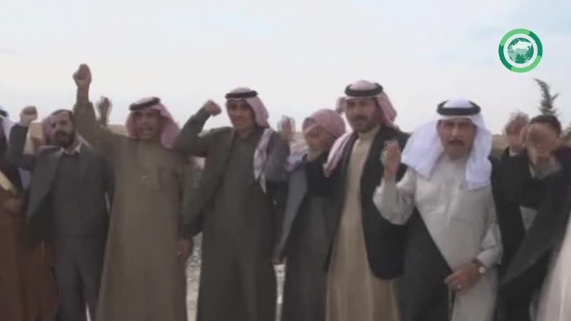 Арабы всяко рады появлению сирийской арабской армии в Манбидже 6 ноября 2019