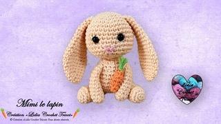 Mimi le lapin Amigurumi Crochet Lidia Crochet Tricot