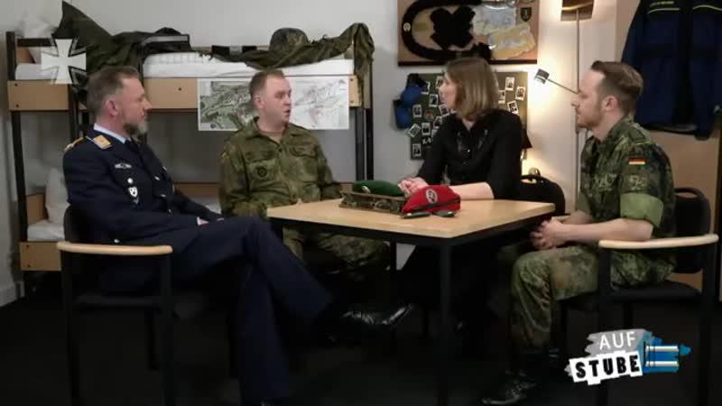 Auf Stube Wir haben noch Reserven Reservisten der Bundeswehr