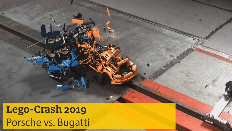 Lego-Crash 2019: Porsche rammt Bugatti | ADAC