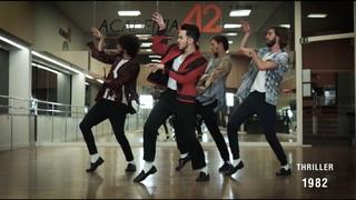 The Evolution of Michael Jackson's Dance - By Ricardo Walker's Crew