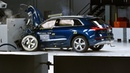 2019 Audi e tron driver side small overlap IIHS crash test