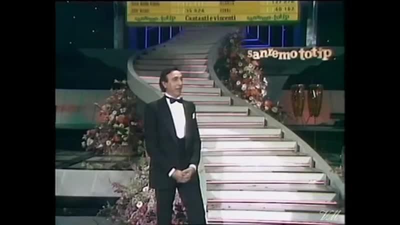 Jose Luis Rodriguez El Puma di T CUTUGNO Cest Venice Sanremo 1985 Serata finale ster