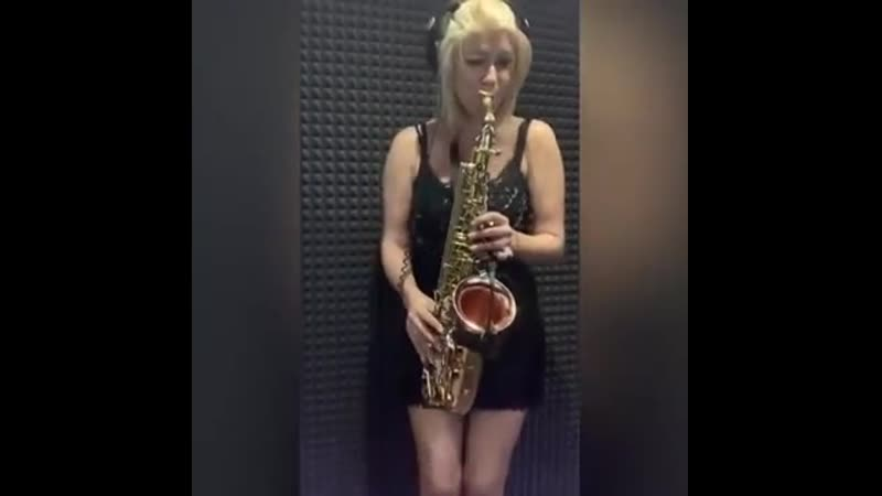 Lambada Ladynsax cover mp4