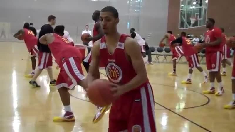 2010 McDonalds All American Basketball Warm up