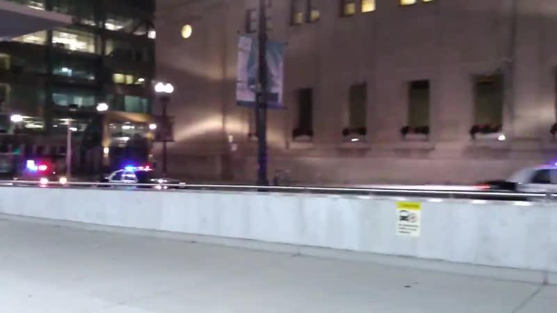 Отряд полиции Готэма Съёмки сериала в Чикаго