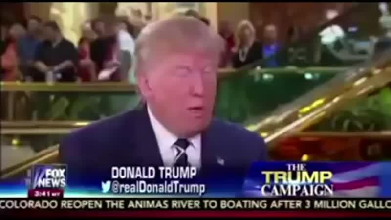 Tunak tunak tun Donald Trump