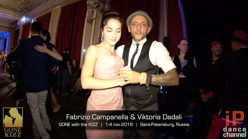 Fabrizio Campanella Viktoria Dadali || GONE with the KIZZ