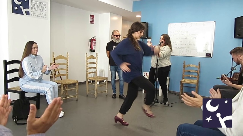 Clase de Cante Flamenco para Baile con Juan José Amador en la Fundación Cristina Heeren de Sevilla