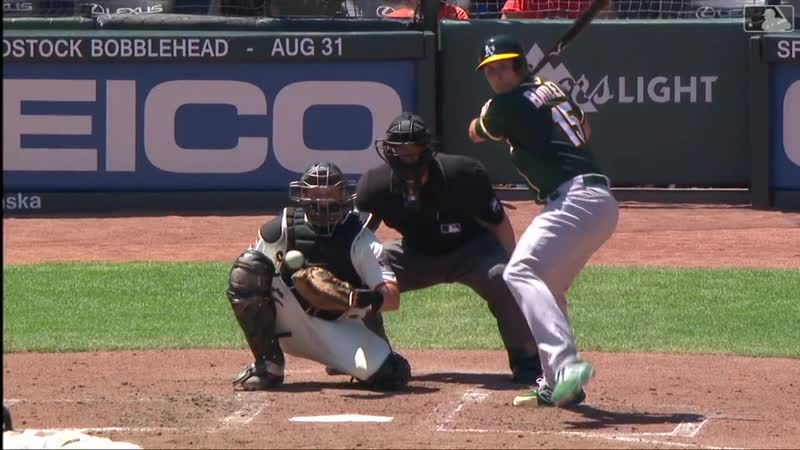 08.14 - Oakland Athletics @ San Francisco Giants - 2019 - MLB - RS - Condensed Game
