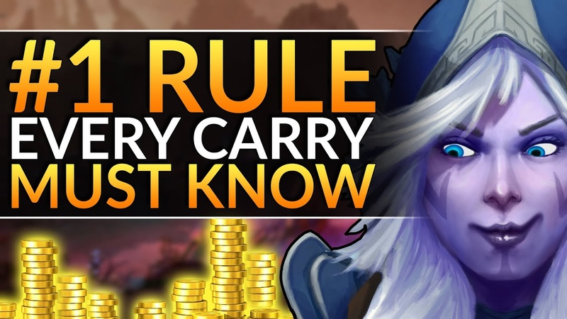 How YOU Will CARRY EVERY GAME - The 1 RULE for Carry and Midlane - INSANE FARM - Dota 2 Pro Guide
