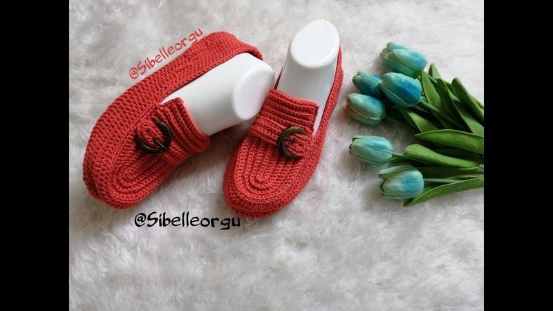 Tokalı Ev Ayakkabısı Patik Modeli