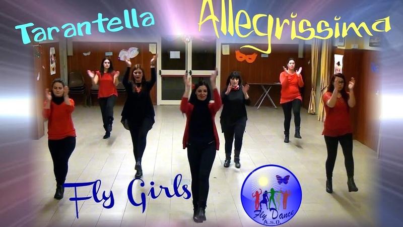 Allegrissima Tarantella (di Puglisi - Zangara- Salafrica) Coreo Giusy De Pasquale - Fly Dance