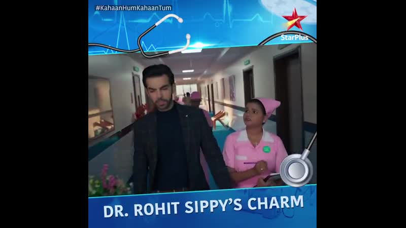 Dr Rohit Sippy sure has charmed his way into some hearts Isn't he Mr Popular KahaanHumKahaanTum Mon Fri at 9pm only on Sta