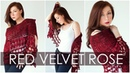 RED VELVET ROSE - How To Crochet a Stunning and Elegant Shawl / Wrap.