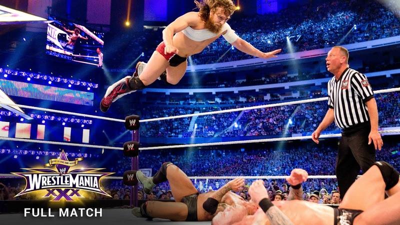 FULL MATCH Randy Orton vs Daniel Bryan vs Batista Triple Threat Match WrestleMania 30