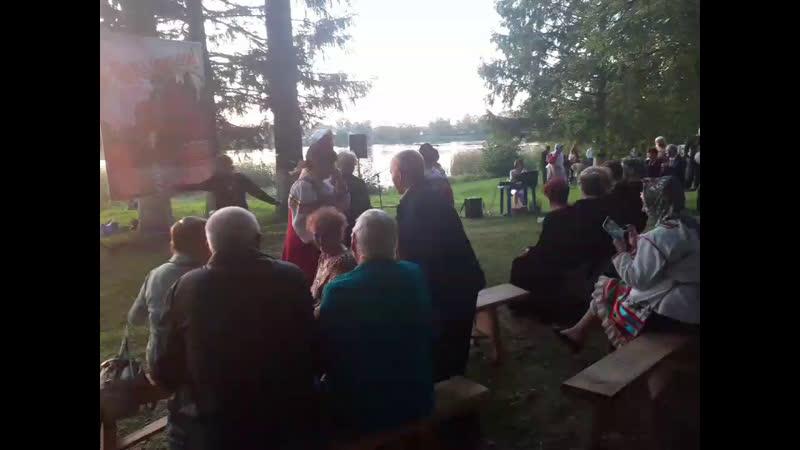 Юбилей вКирове Русское народное