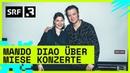 Heitere Openair: Mando Diao über miese Konzerte   Festivalsommer 2019   Radio SRF 3