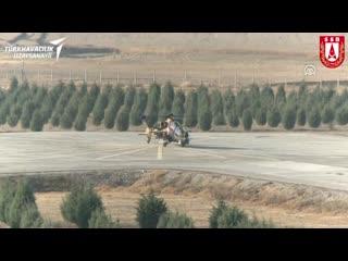 В Турции успешно испытали отечественный ударный вертолет