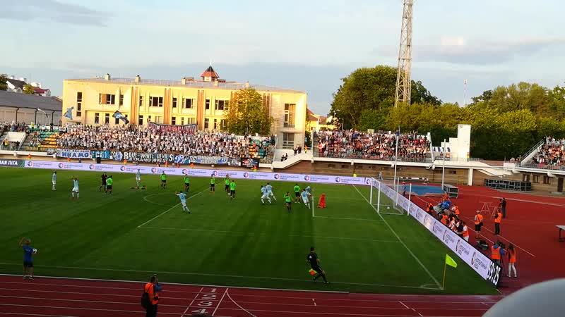 Гол Нойока в ворота «Минска»