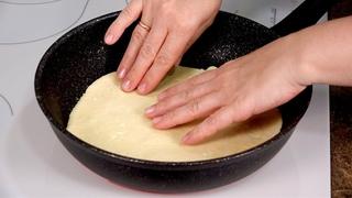 Нет духовки? Делай так! Пицца на сковороде - 5 РЕЦЕПТОВ
