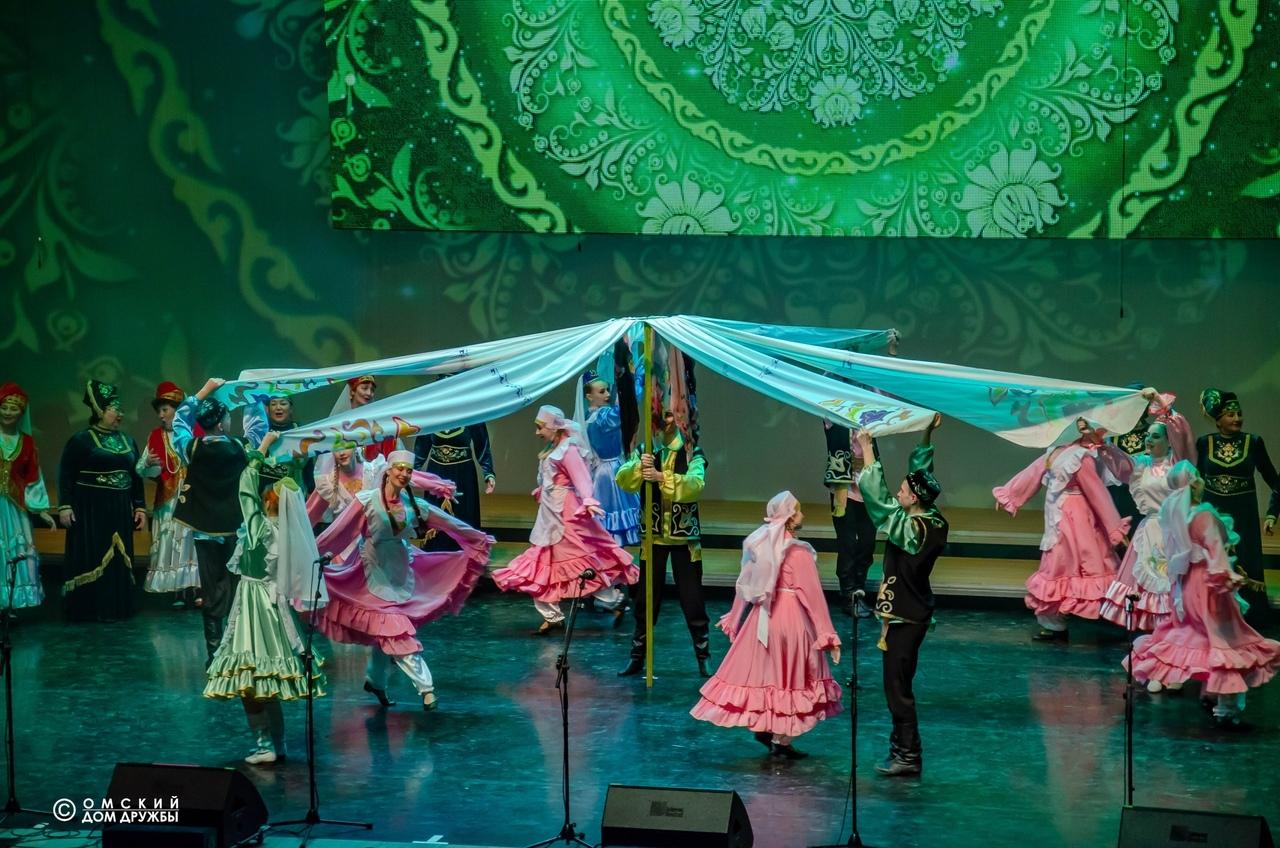 XI Областной фестиваль национальных культур «Единение» Омск татары
