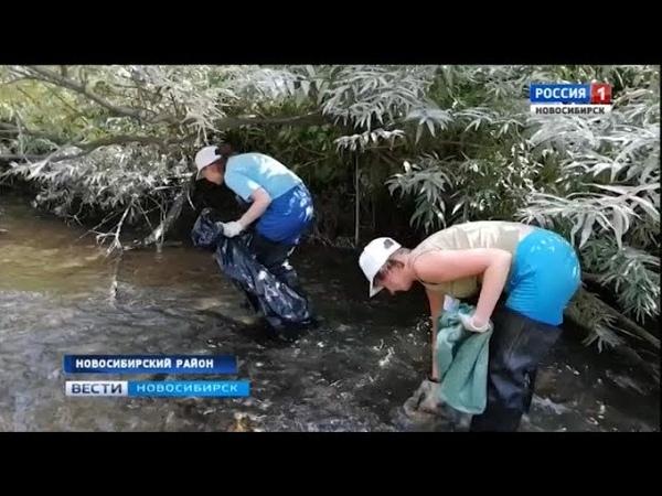Десятки волонтеров со всего региона наводят порядок на берегах реки Издревая