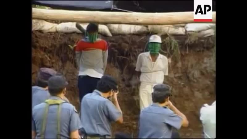 Guatemala Two men executed for rape and murder 1996