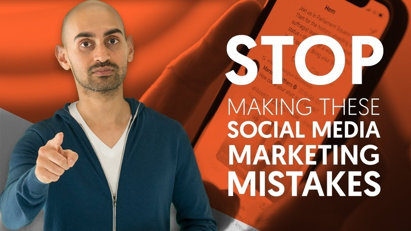Stop Making These Social Media Marketing Mistakes | Neil Patel