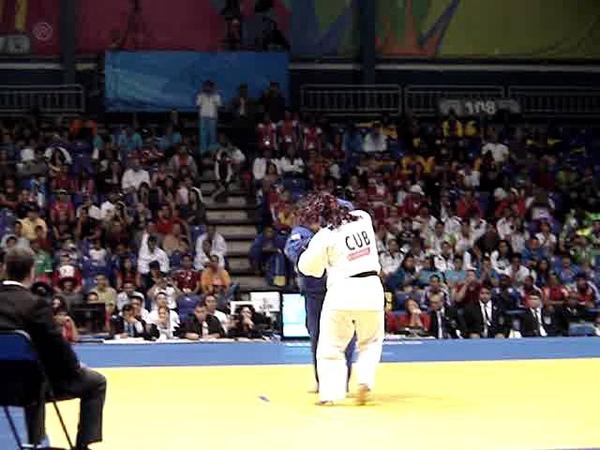 Панамериканские игры 2011 Дзюдо Женщины 78 1 2 финала Идалис Ортис Куба Ванесса Замботти Мексика