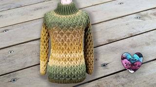 Pull Câlin Crochet toutes tailles Lidia Crochet Tricot