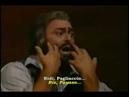 Vesti La Giubba - Pavarotti - Subtítulos Italiano y Español