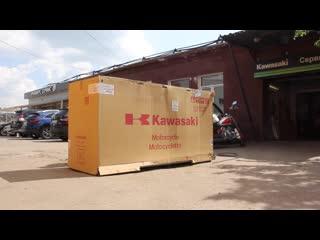 Распаковка kawasaki ninja h2 carbon 2019