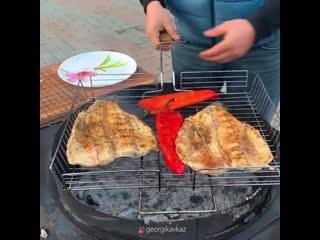Интересный способ готовки рыбы